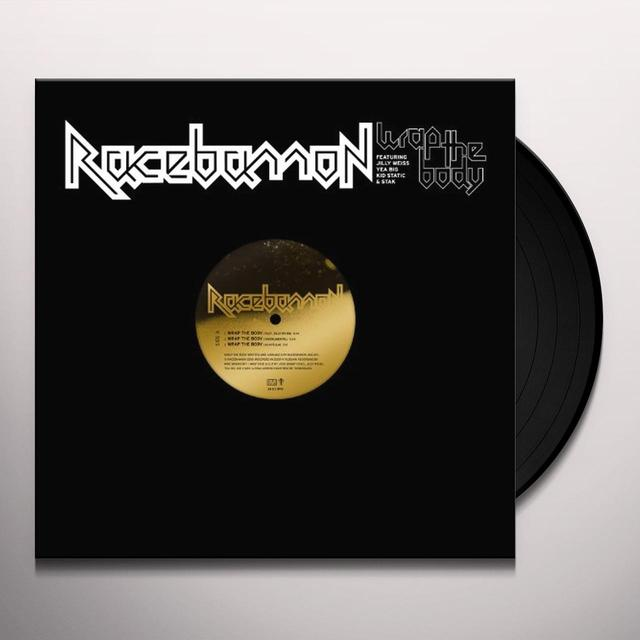 Racebannon WRAP THE BODY (EP) Vinyl Record - 180 Gram Pressing, Digital Download Included
