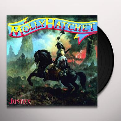 Molly Hatchet JUSTICE Vinyl Record