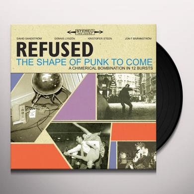 Refused SHAPE OF PUNK TO COME (BONUS CD) Vinyl Record - Digital Download Included