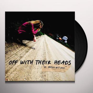 Off With Their Heads IN DESOLATION Vinyl Record