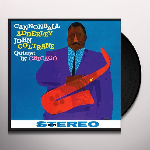 Cannonball Addreley / John Coltrane QUINTET IN CHICAGO Vinyl Record