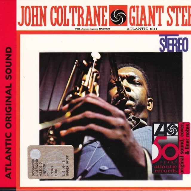 John Coltrane GIANT STEPS Vinyl Record - 180 Gram Pressing