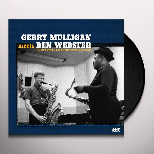 Gerry Mulligan MEETS BEN WEBSTER Vinyl Record - 180 Gram Pressing