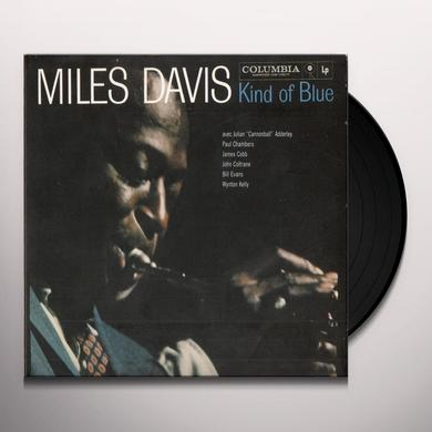 Miles Davis KIND OF BLUE Vinyl Record - 180 Gram Pressing