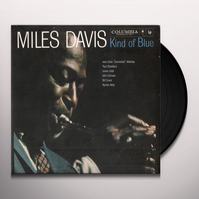 Miles Davis KIND OF BLUE Vinyl Record - 180 Gram Pressing