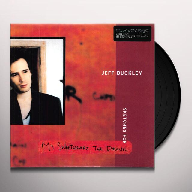 Jeff Buckley SKETCHES FOR MY SWEETHEART THE DRUNK Vinyl Record - 180 Gram Pressing