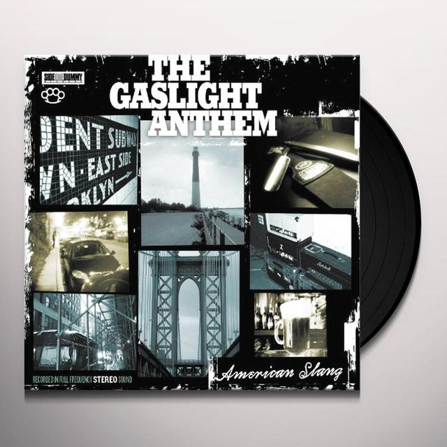The Gaslight Anthem AMERICAN SLANG Vinyl Record