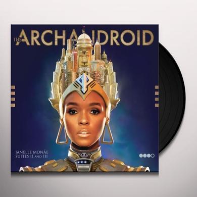 Janelle Monae ARCHANDROID Vinyl Record