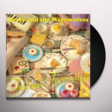 Betty & Werewolves TEA TIME FAVOURITES Vinyl Record