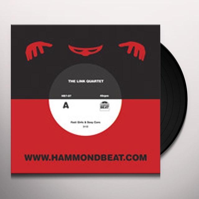 Link Quartet FAST GIRLS & SEXY CARS B/W DRUMMORE (Vinyl)