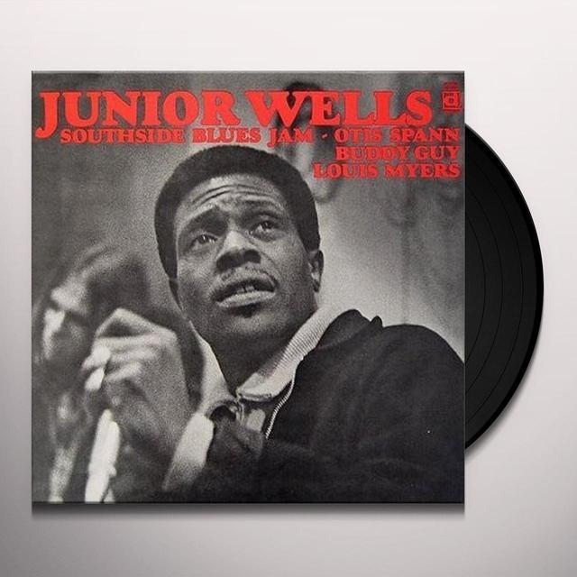 Junior Wells SOUTHSIDE BLUES JAM Vinyl Record - Reissue