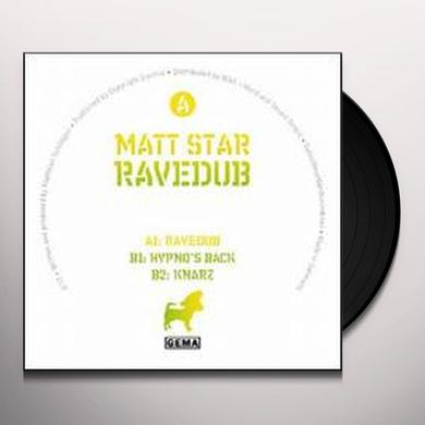 Matt Star RAVEDUB Vinyl Record