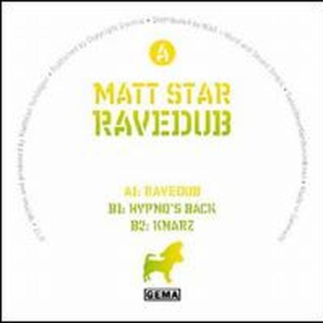 Matt Star RAVEDUB (EP) Vinyl Record