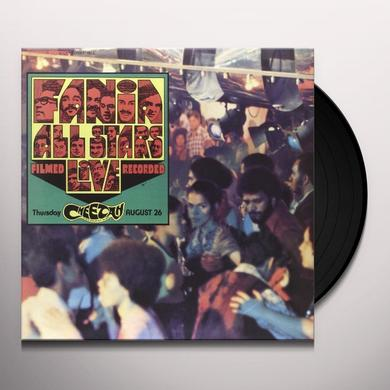Fania All Stars LIVE AT THE CHEETAH 1 Vinyl Record