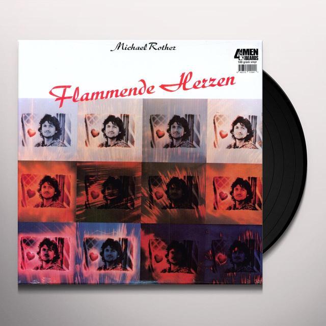Michael Rother FLAMMENDE HERZEN (OGV) (Vinyl)