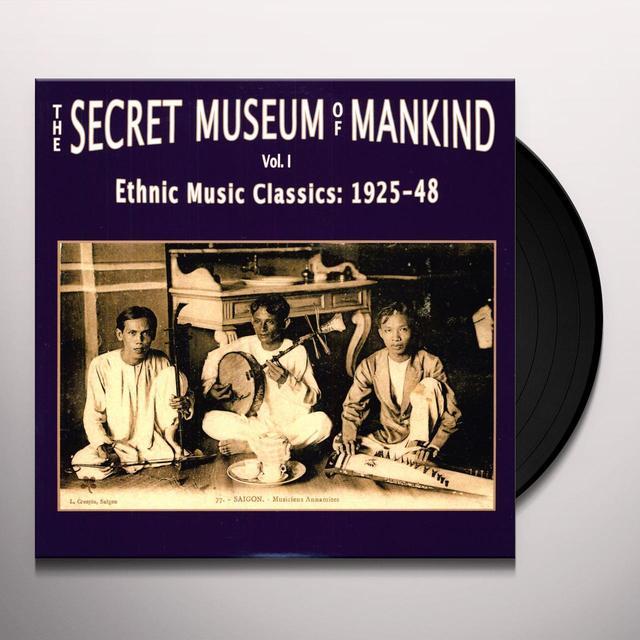 SECRET MUSEUM OF MANKIND 1: ETHNIC MUSIC / VAR Vinyl Record