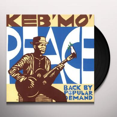 Keb' Mo' PEACE BACK BY POPULAR DEMAND Vinyl Record