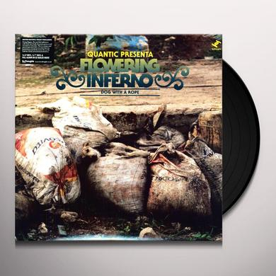 QUANTIC PRESENTA FLOWERING INFERNO DOG WITH A ROPE Vinyl Record - w/CD