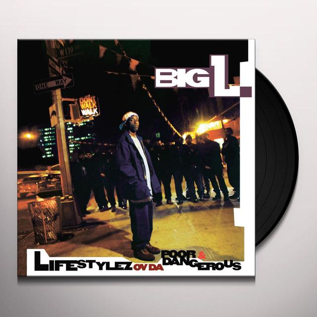 Big L LIFESTYLEZ OV DA POOR & DANGEROUS Vinyl Record - Anniversary Edition