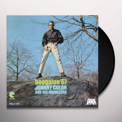 Johnny Colon BOOGALOO '67 Vinyl Record