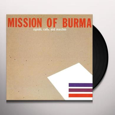 Mission Of Burma SIGNALS CALLS & MARCHES Vinyl Record - Remastered