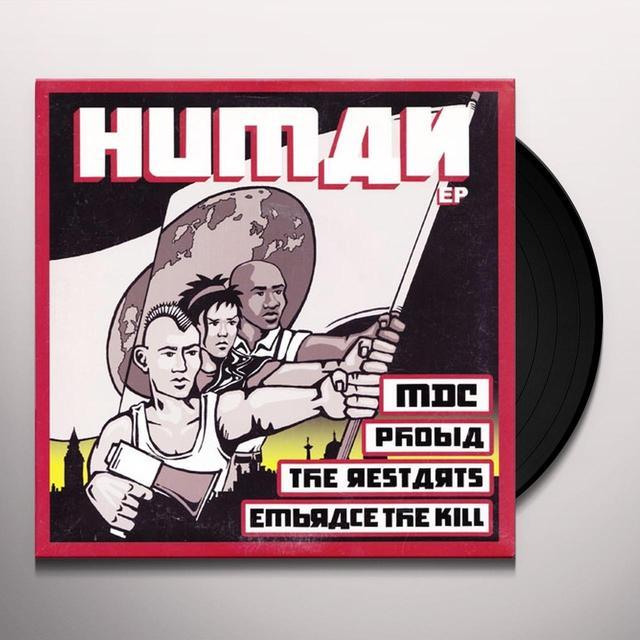 HUMAN / VARIOUS Vinyl Record