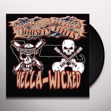 Whiskey Reb / Tommy Terrors HELLA WICKED SPLIT Vinyl Record