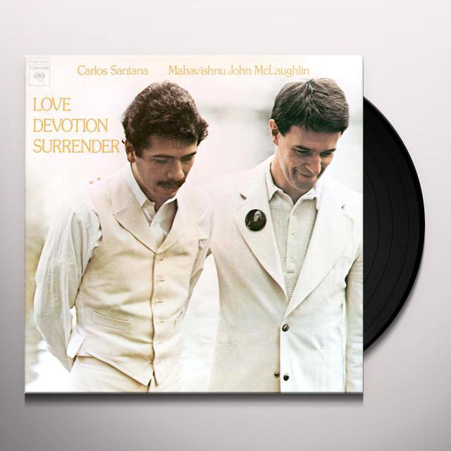 John Santana / Mclaughlin LOVE DEVOTION SURRENDER Vinyl Record - Limited Edition, 180 Gram Pressing