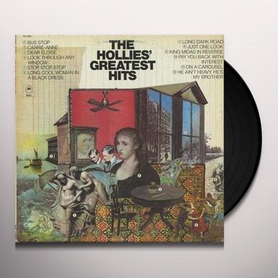 HOLLIES' GREATEST HITS Vinyl Record - 180 Gram Pressing