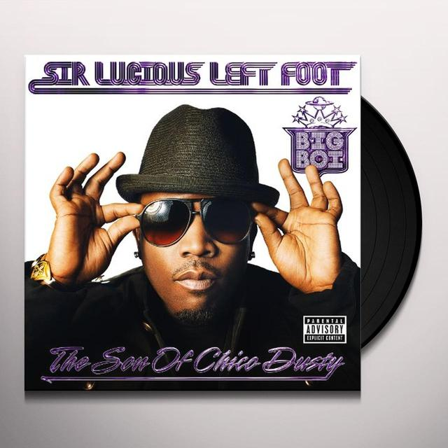 Big Boi SIR LUCIOUS LEFT FOOT: THE SON OF CHICO DUSTY Vinyl Record