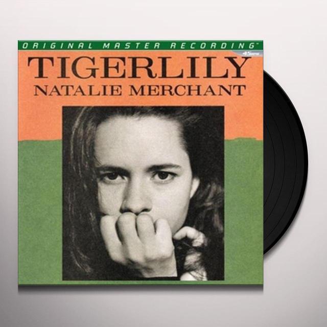 Natalie Merchant TIGERLILY (OMR) Vinyl Record