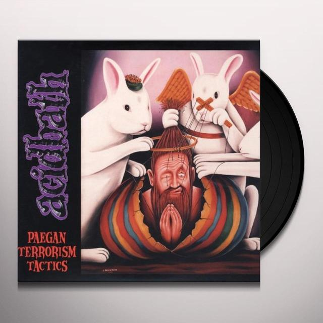Acid Bath PAEGAN TERRORISM TACTICS Vinyl Record