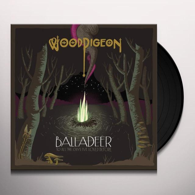 Woodpigeon BALLADEER: TO ALL THE GUYS I'VE LOVED BEFORE Vinyl Record - Limited Edition