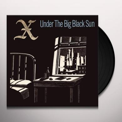 X UNDER THE BIG BLACK SUN Vinyl Record