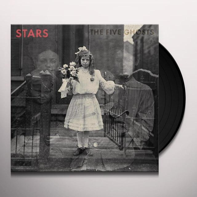 Stars FIVE GHOSTS Vinyl Record - 180 Gram Pressing, Digital Download Included