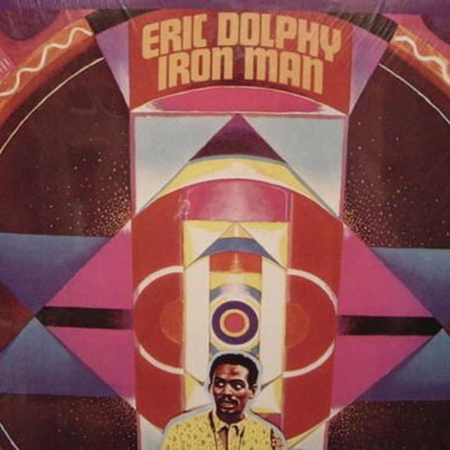Eric Dolphy IRON MAN Vinyl Record