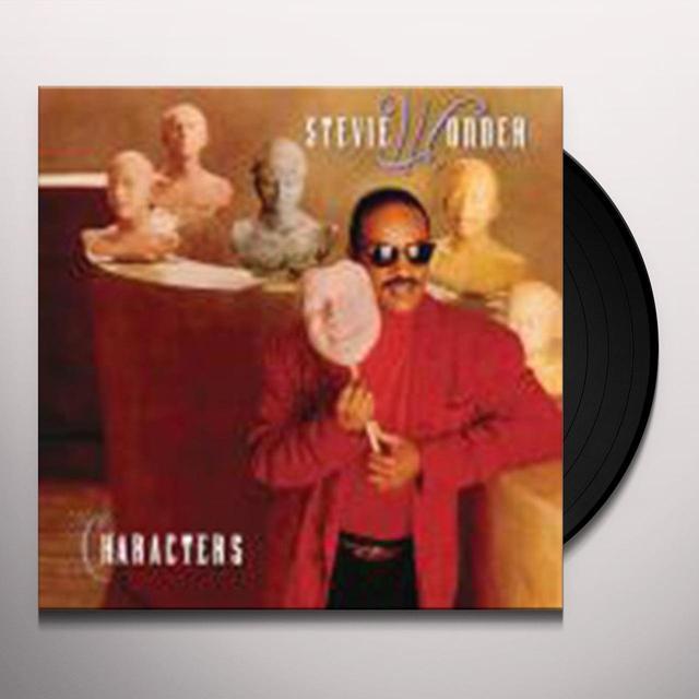 Stevie Wonder CHARACTERS Vinyl Record