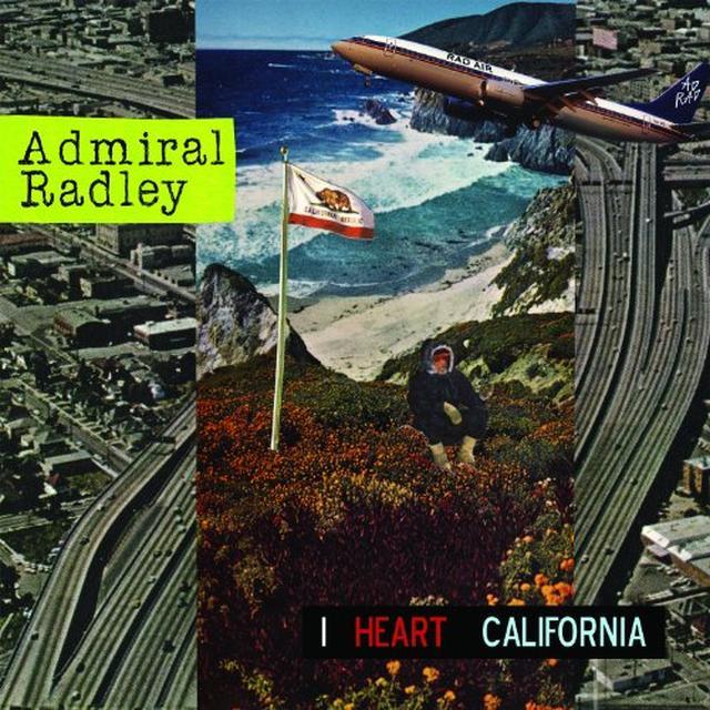 Admiral Radley I HEART CALIFORNIA Vinyl Record