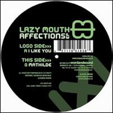Lazy Mouth AFFECTIONS EP Vinyl Record