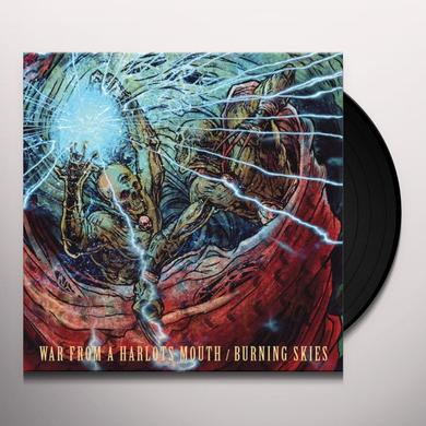 War From A Harlots Mouth / Burning Skies SPLIT Vinyl Record