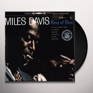 Miles Davis KIND OF BLUE (BONUS TRACKS) Vinyl Record