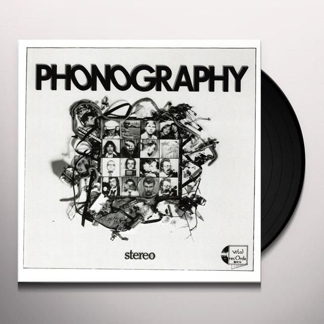 R. Stevie Moore PHONOGRAPHY Vinyl Record
