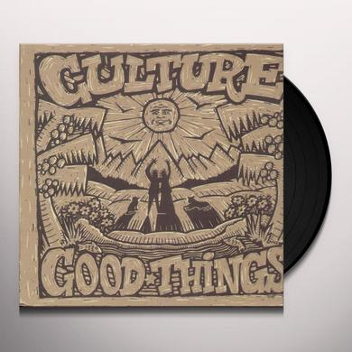 Culture GOOD THINGS Vinyl Record
