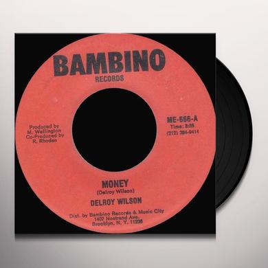 Delroy Wilson MONEY Vinyl Record