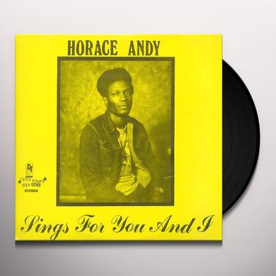 Horace Andy SINGS FOR YOU & I Vinyl Record