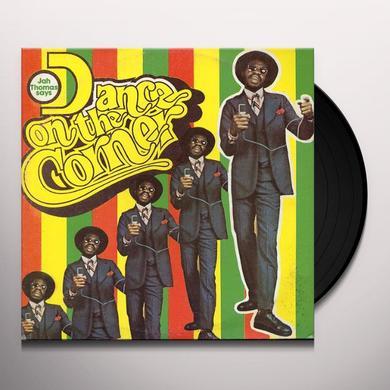 Jah Thomas DANCE ON THE CORNER Vinyl Record