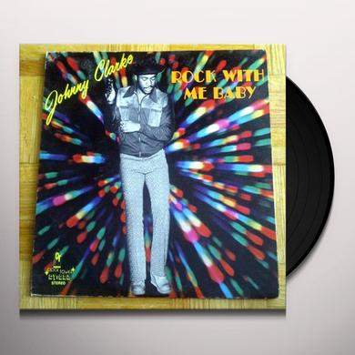 Johnny Clarke ROCK WITH ME BABY Vinyl Record