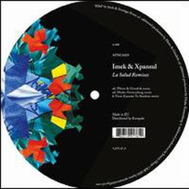 Imek & Xpansul SALUD REMIXES Vinyl Record