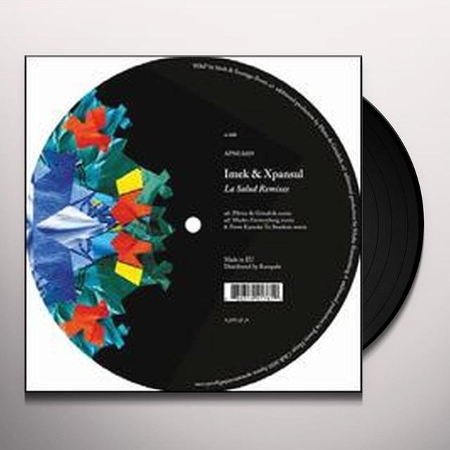 Imek & Xpansul SALUD REMIXES (EP) Vinyl Record