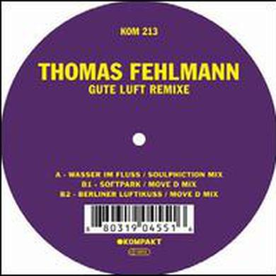 Thomas Fehlmann GUTE LUFT REMIXE Vinyl Record